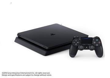 PS4-500GB 主機 黑