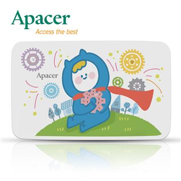 Apacer 2.5吋 1TB行動硬碟(AC233 X Nings)