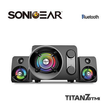 【拆封品】SONICGEAR 泰坦星七號2.1聲道藍牙無線音箱
