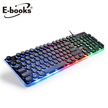 E-books Z6炫光打字機靜音有線鍵盤