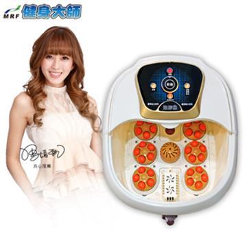 【健身大師】超循環水療SPA電動滾輪足浴機 h12