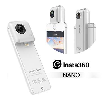 Insta 360° NANO全景相機-銀