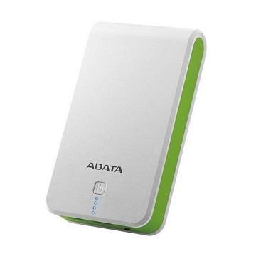 【拆封品】ADATA 16750mAh 行動電源-白綠