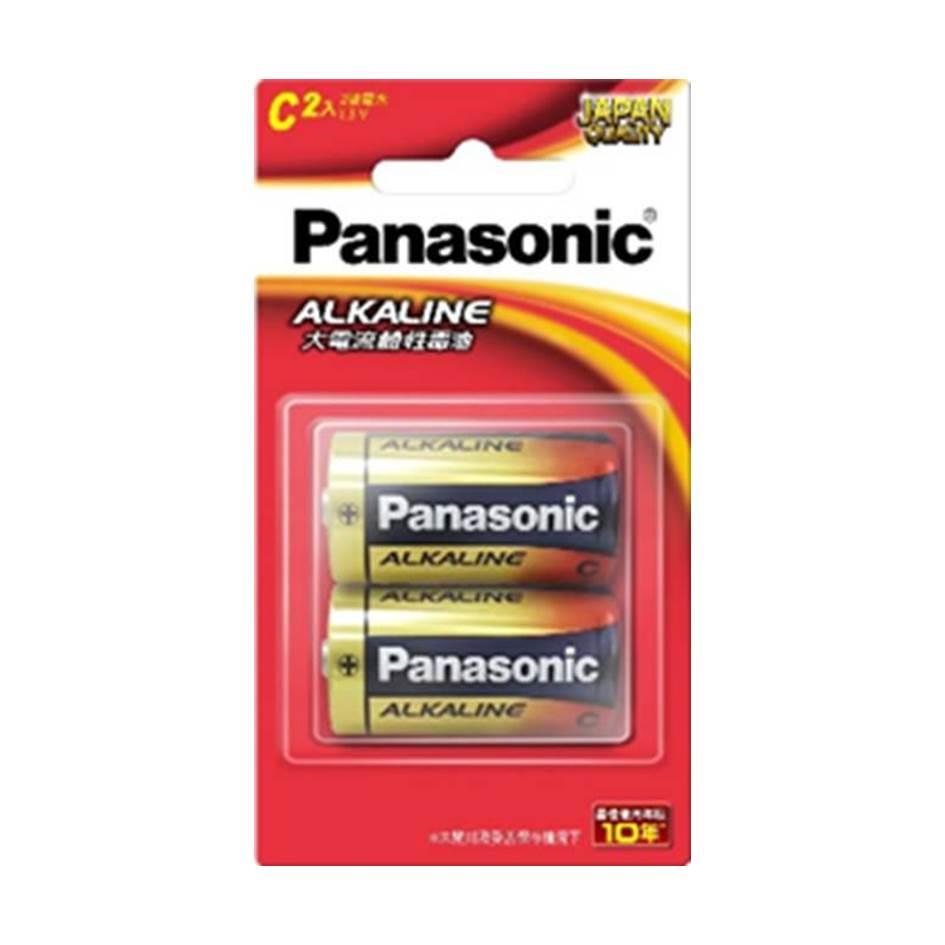Panasonic 大電流鹼性電池2號2入