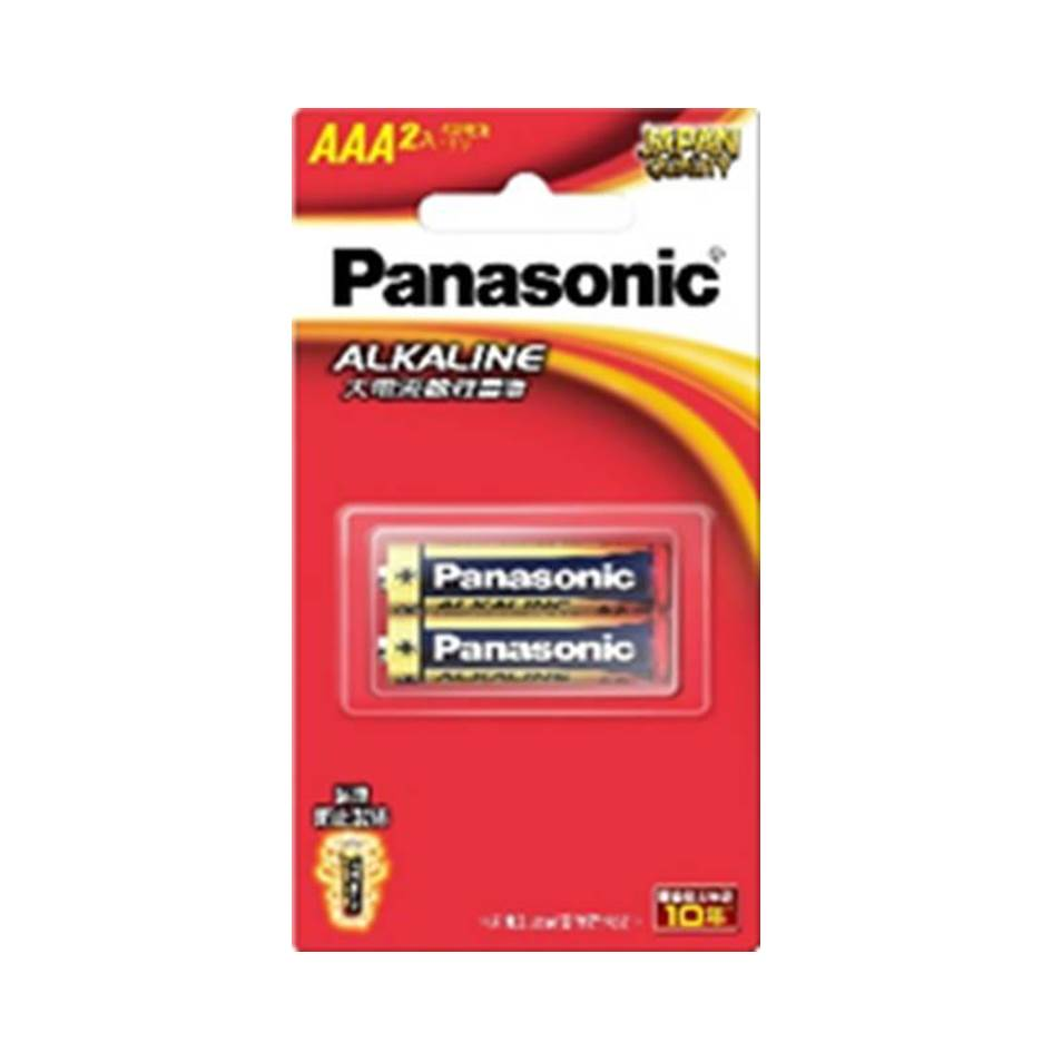 Panasonic 大電流鹼性電池4號2入 LR03TTS/2B-R