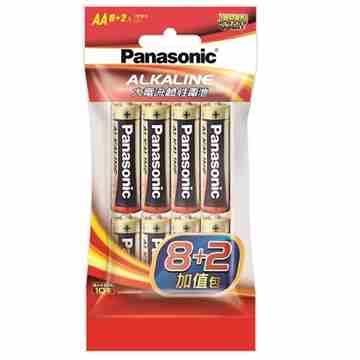 Panasonic 大電流鹼性電池3號10入