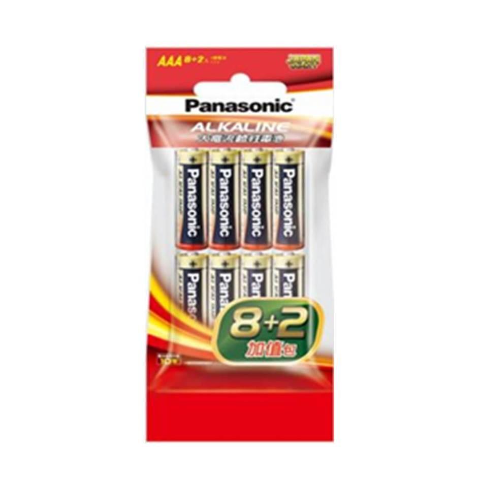 Panasonic 大電流鹼性電池4號10入