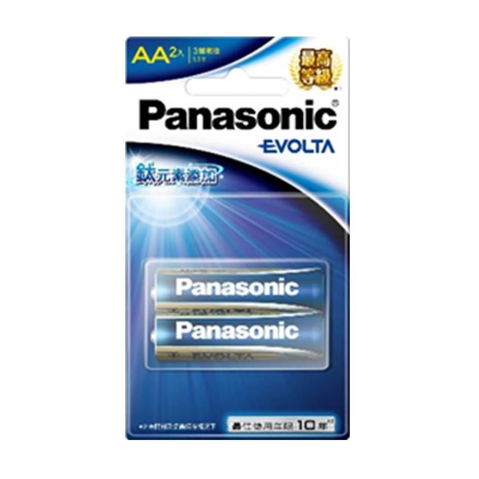 國際牌Panasonic EVOLTA鈦元素電池3號2入