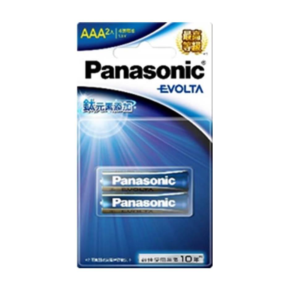 Panasonic EVOLTA鈦元素電池4號2入 LR03EGT/2BN