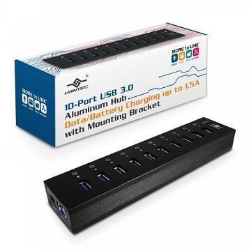 凡達克 10埠USB3.0高速傳輸充電集線器