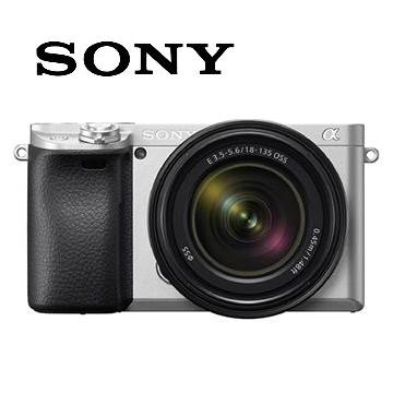 SONY α6400M可交換式鏡頭相機KIT-銀 ILCE-6400M/S(18-135mm)