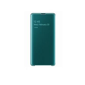 SAMSUNG Galaxy S10e全透視感應皮套-綠