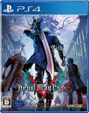 PS4 惡魔獵人 5 中文版