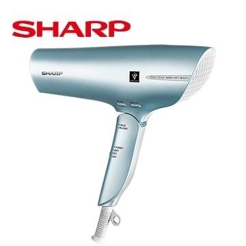 SHARP 智慧溫控正負離子吹風機(翡翠綠)