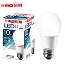 東亞10W LED球型燈泡-晝光色