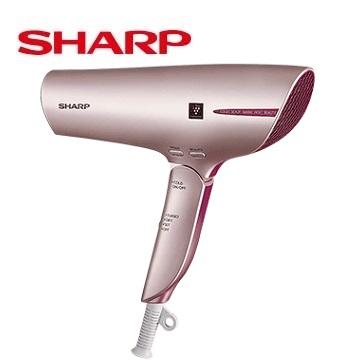 (展示機)夏普SHARP 智慧溫控正負離子吹風機(香檳金)