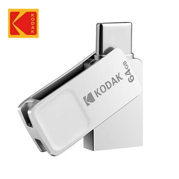 Kodak K223 Type-C 64G金屬旋轉隨身碟