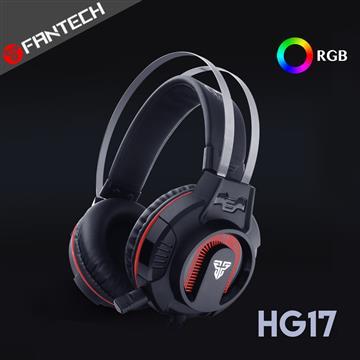 FANTECH HG17多彩燈效立體聲耳罩式電競耳機