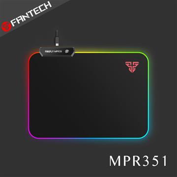 FANTECH MPR351 RGB防滑軟式LED電競滑鼠墊 MPR351