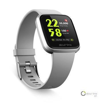 About Time A1健康智慧手錶-灰