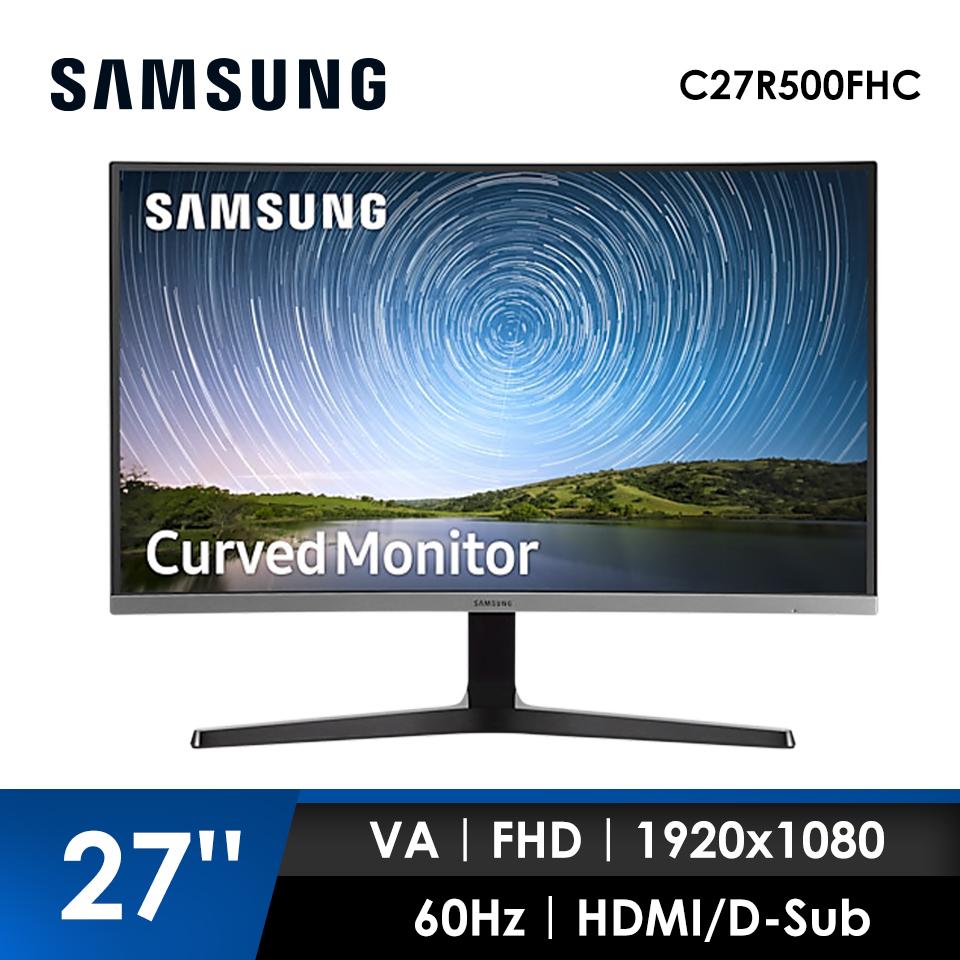 【拆封品】【27型】SAMSUNG Curved 曲面電競螢幕