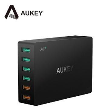 AUKEY PA-T11 QC3.0 6孔充電器