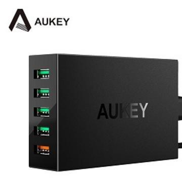 AUKEY PA-T15 QC3.0 5孔充電器