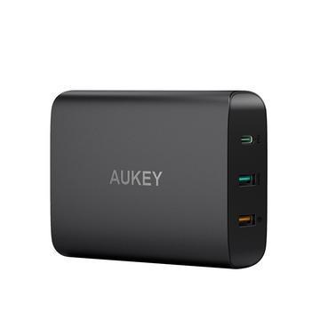 AUKEY PA-Y13 PD3.0+QC3.0 3孔快速充電器