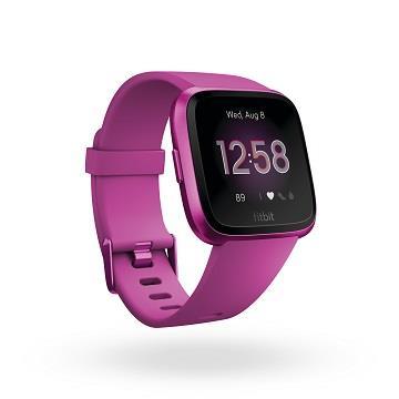 Fitbit Versa Lite 智慧手錶-桑葚紫