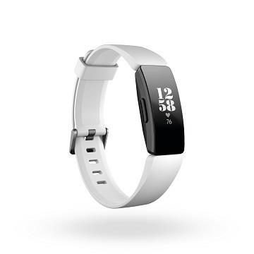 Fitbit 智能健身手環-黑框白