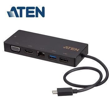ATEN USB-C迷你擴充基座