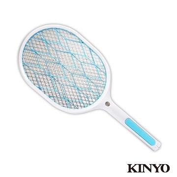 KINYO 鋰電池大網面照明電蚊拍