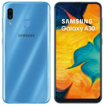 SAMSUNG Galaxy A30 藍