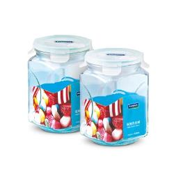 玻璃保鮮罐二入組