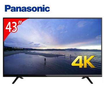 【福利品】Panasonic 43型 4K智慧聯網顯示器