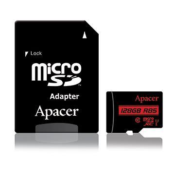 Apacer MicroSD U1 C10 128G記憶卡-含轉卡