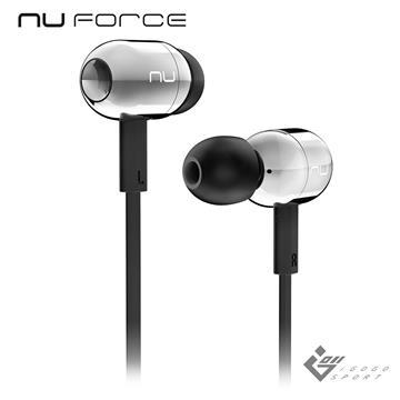 NuForce BE Live2 藍牙耳機-銀色