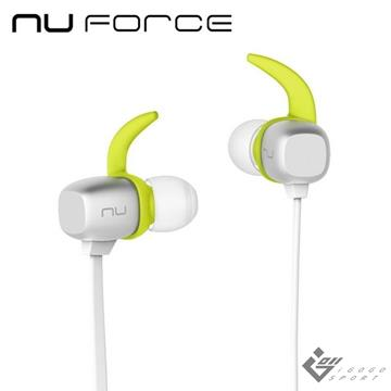 NuForce BE Sport4 運動藍牙耳機-銀色