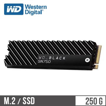 WD威騰 SN750 250G M.2固態硬碟