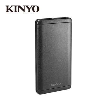 KINYO 10000mAh 行動電源-黑 KPB-1500B
