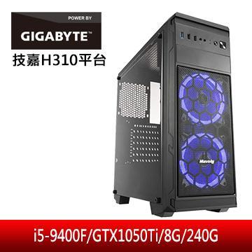 技嘉平台[熾焰英雄II]i5六核獨顯電腦