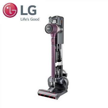 樂金LG 快清式濕拖無線吸塵器(酒紅色)