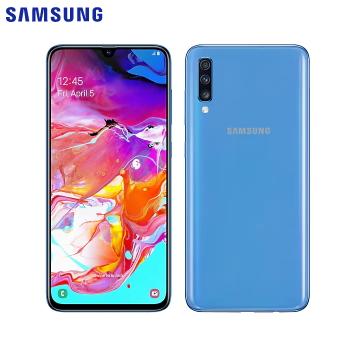 SAMSUNG Galaxy A70 藍