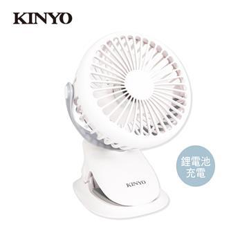 KINYO 多功能夾/立式小風扇 UF-168