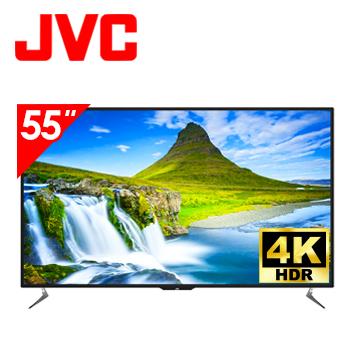 JVC 55型 4K HDR WiFi 護眼 連網液晶顯示器