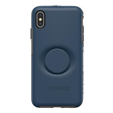 Otter+Pop iPhone XS Max Symmetry防摔殼-藍