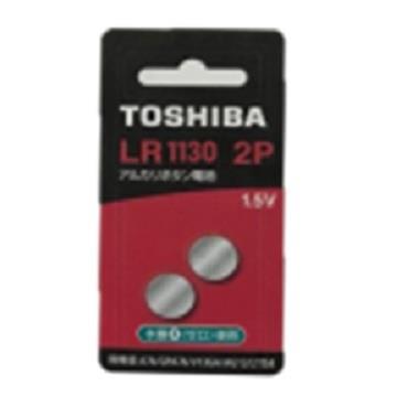 東芝鈕扣電池 LR1130(LR54)-2入卡