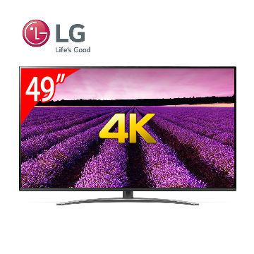LG 49型1奈米 4K IPS 物聯網電視