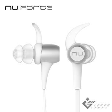 NuForce BE Sport3 運動藍牙耳機-銀色