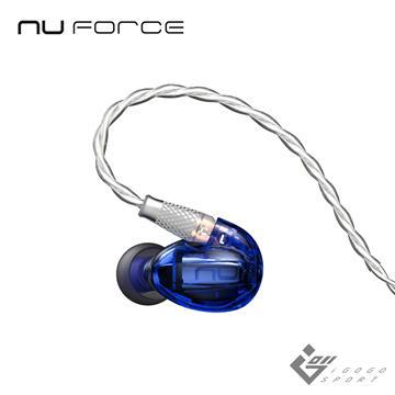 NuForce HEM1 動鐵單元監聽式耳機-藍色